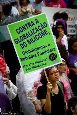 MMM no Dia Internacional de Luta das Mulheres, São Paulo/SP (2011). Foto por: Elaine Campos.