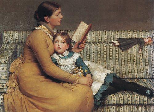 Resultado de imagem para mãe ensinando filha