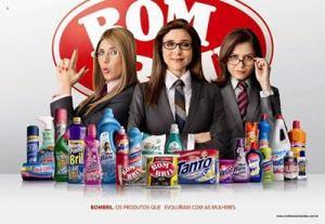 """Imagem da Campanha """"Mulheres Evoluídas"""" de Bombril"""