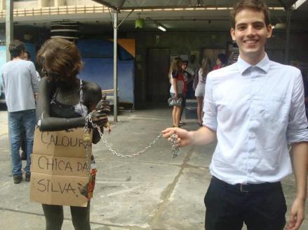 Trote racista e sexista realizado na UFMG.