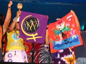 8 de março de 2005. 2ª Ação Internacional da Marcha.