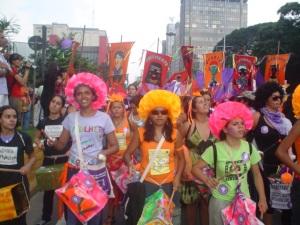 Fuzarca Feminista. 8 de março de 2005.