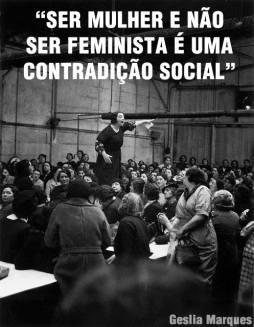 ser mulher e feminista