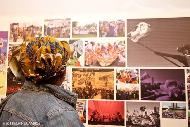 Exposição Feminismo em marcha na Galeria Olido – Foto: Elaine Campos