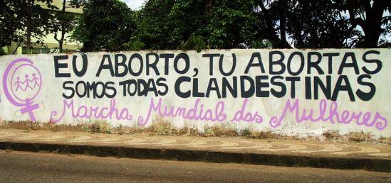 Ação da MMM em Salvador (BA). Foto: Inajara Diz.