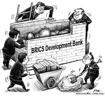"""""""Banco de Desenvolvimento dos BRICS"""". Fonte: http://batr.org"""