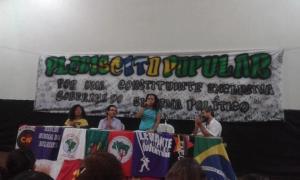 Lançamento do comitê do plebiscito popular sobre a Assembleia Constituinte no Ceará