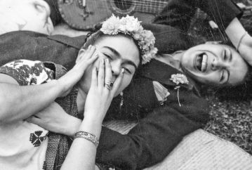 Frida e Chavela Vargas, 1945.