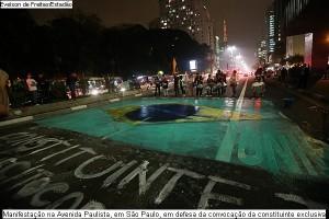 Ato pelo plebiscito constituinte, realizado em São Paulo