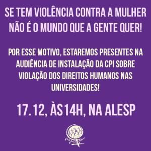 AUDIENCIA ALESP