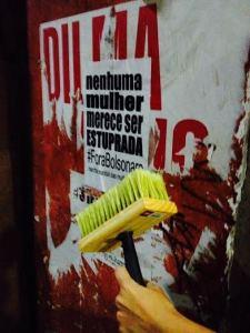 Ação da MMM, em São Paulo.