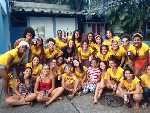 Fuzarca Feminista. 4ª Ação Internacional da MMM no RJ (30/08/15).