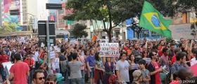 Ato #ForaTemer em São Paulo (SP), 15/05/16. Foto: Bruna Provazi.
