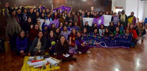 Formação Feminista e Plenaria MMMRS. Foto de CintiaBarenho